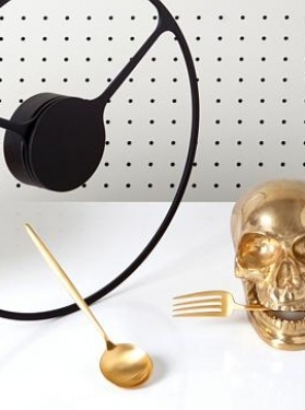 AFR Magazine July 2014 - Brass Skull by Kelly Wearstler