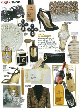 Vogue Gift Guide - Cammei Oro by Fornasetti Profumi, Room Spray by Cire Trudon - December 2012